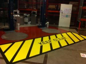 Warehouse Self leveller & Line Marking Sika 381 N